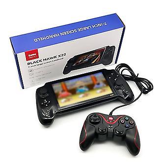 X20 el oyun konsolu 7 inç ekran retro joystick desteği tf kart çift oyunculu video çıkışı çocuklar için