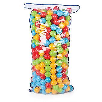 Pilsan Ball Bath 06182, 500 kleurrijke spel ballen 7 cm diameter in een zak
