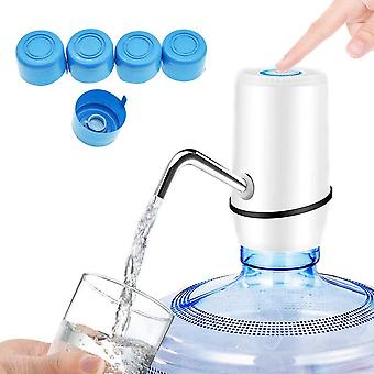Wasserflaschenpumpe Elektrischen USB Wiederaufladbar Trinkwasserpumpe, Abnehmbarer Plastik Flaschen