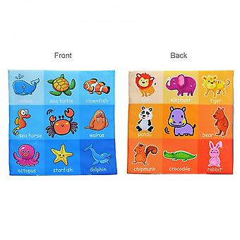 Soft Cloth Newborn Book, Children's Toys For 0-12 Months, Educational Learning, Cognitive Learning Objects, -04