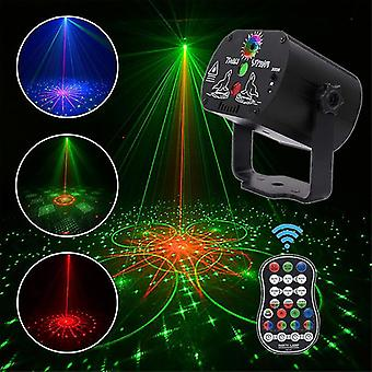 Usb Rechargeable 60 Patterns Led-laser Projecor With Remote Control