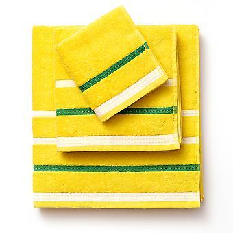 Set asciugamani Benetton Giallo (3 pz)