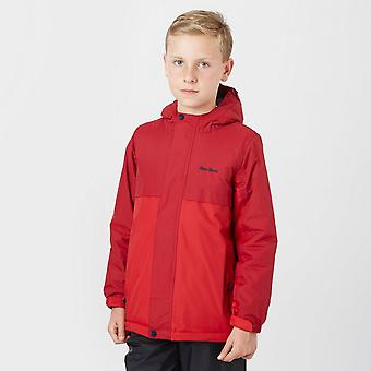 Peter Storm Boy's Insulated Waterproof Jacket Red