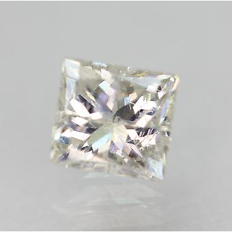معتمد 0.51 قيراط E VS2 الأميرة تعزيز الماس فضفاضة الطبيعية 4.38x4.1m 2VG