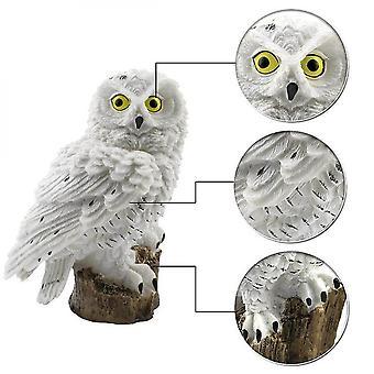 Wodoodporny Solar Power Led Light Garden Path Yard Owl Animal Ornament Soalr Lights