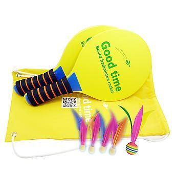 Raquette de sports d'intérieur de badminton réglée avec le cricket de volant de raquette