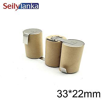 Batterie 3000mah 3.6v Ni-mh 4/5v Giet Zwart Decker 9019 9050 Type 1 3 41s29ad211503