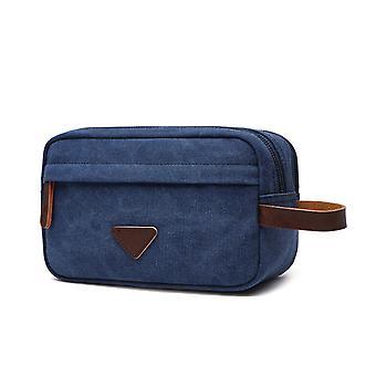 European And American Canvas Bag, Portable Key Case, Coin Purse, Toiletry Cosmetic Bag, Portable Storage Bag