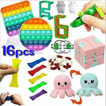 Sensory Decompression Toy Set Puzzle Diy Combination Toys -45