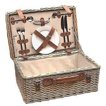 Bamburgh ausgestatteter Picknickkorb