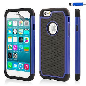 32. Shockproof Case für Apple iPhone 6 6 s - Deep Blue