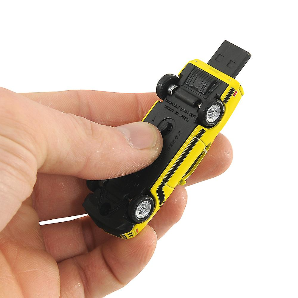 Ford Mustang Boss 302 Car USB Memory Stick 8Gb - Yellow