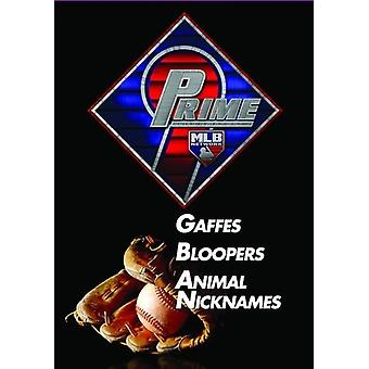Prime 9: Gaffes / Bloopers / Animal Nicknames [DVD] USA import