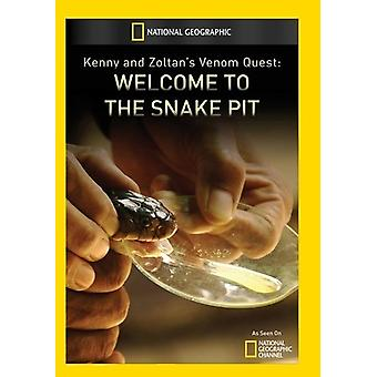 Kenny & Zoltans Venom Quest: Welcome to Snake Pit [DVD] USA import