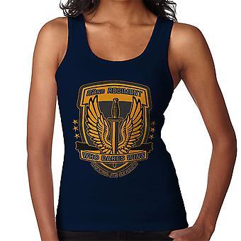 22nd Regiment Insignia COD 4 Modern Warfare Women's Vest