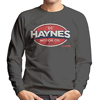 Haynes 66 Motor Oil Gulf Logo Men's Sweatshirt