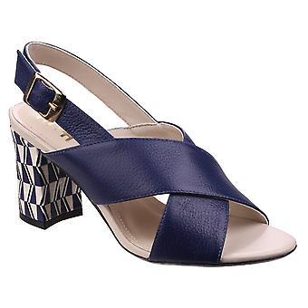 Riva Womens Budino Leather Ladies Sandal Navy