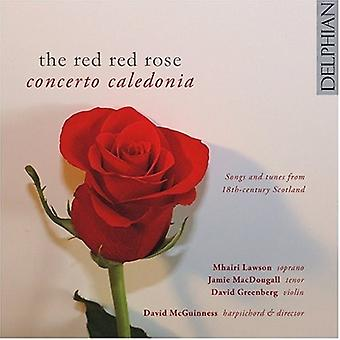Concerto Caledonia - The Red Red Rose [CD] USA import