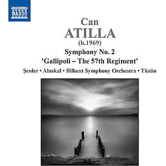 Atilla / Senler / Ahiskal - Symfoni nr. 2 - Gallipoli - 57 Regiment [DVD] USA import