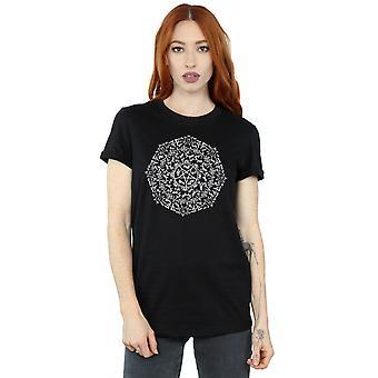 Supernatural Women's Symbol Circle Boyfriend Fit T-Shirt