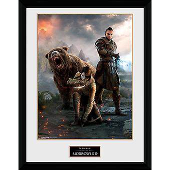 Elder Scrolls Online Morrowind Trio Framed Collector Print
