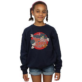 Tom und Jerry Mädchen klassische Fang Sweatshirt