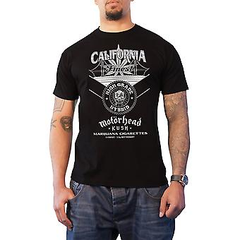 Motorhead T Shirt Kush California finest logo new Official Mens Black