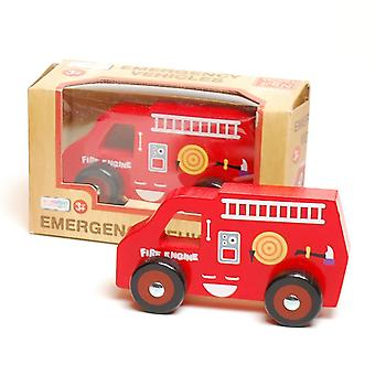 Traditional Wood 'n' Fun Emergency Vehicles