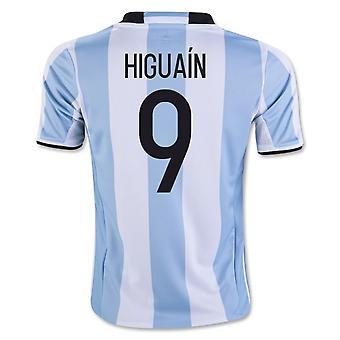 2016-17 アルゼンチン ホーム シャツ (9 イグアイン) - 子供します。