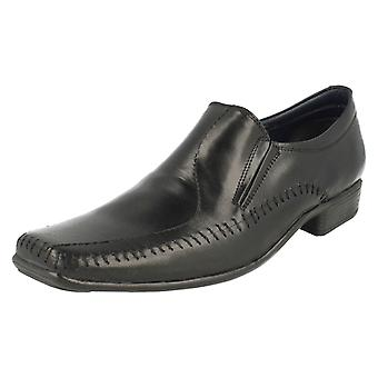 Mens PSL Formal Slip On Shoes LE054B
