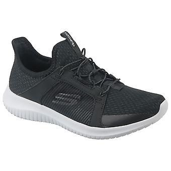 Skechers Ultra Flex 12832BLK universal summer women shoes