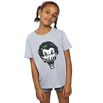 Niñas DC Comics el Joker cara grande t-shirt