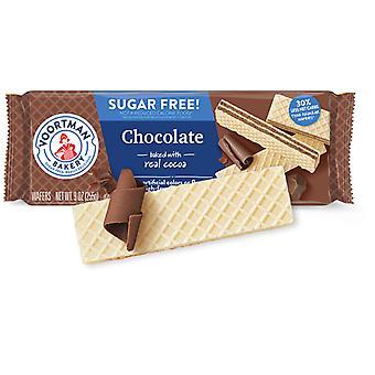 Voortman chokolade sukker fri vafler Cookies 2 Pack