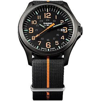 Traser H3 watch P67 officer pro GunMetal 107425