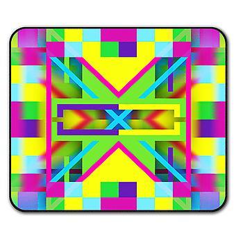 Fargerike Ormanent sklisikre musematte Pad 24 cm x 20 cm | Wellcoda