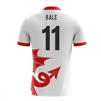 2020-2021 Wales Airo Concept Away Camisa (Bale 11)