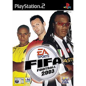 FIFA Football 2003 (PS2) - Neu