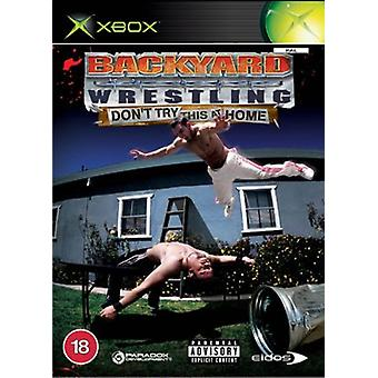Backyard Wrestling Dont Try This at Home (Xbox) - Neu