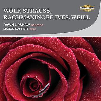 Dawn Upshaw - Wolf, Strauss, Rachmaninoff, Ives, Weill [CD] USA import