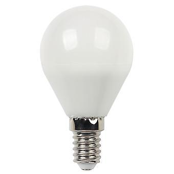 5 W lämmin valkoinen himmennettävä E14 LED-lamppu Maapallo G45