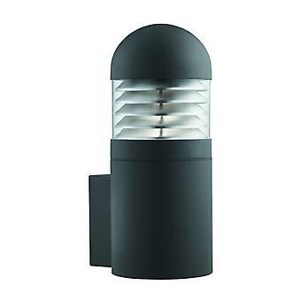 Bronx - grote buiten cilinder wandsteun - zwart