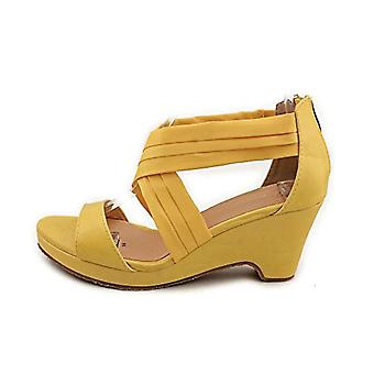 Beacon Womens Aana criss Open Toe Casual Ankle Strap Sandals