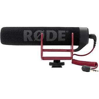 RODE mikrofoner VideoMic GO kamera mikrofon Overføringstype: direkte Hot Shoe montere