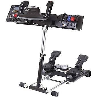 Pyörän jalusta Pro Saitek Pro Flight yoke System ohjaus pyörä Mount musta