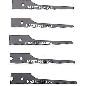 Jigsaw blade set, 5-piece Hazet 9034P-024/5 5 pc(s)