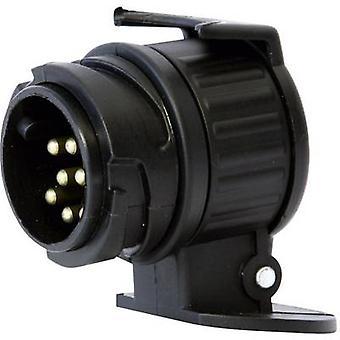 DINO 130007 Römork adaptörü [13-pin soket - 7-pin fiş] ABS plastik