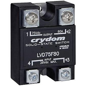 Crydom SSR LVD75D100 Current load (max.): 100 A Switching voltage (max.): 75 V DC 1 pc(s)