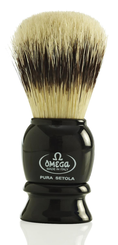 Omega 13522 Pure Bristle Shaving Brush