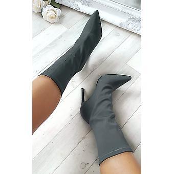 أحذية الكاحل تمتد المرأة كسي إيكروش