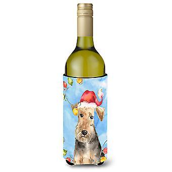 عيد الأنوار الويلزية الكلب زجاجة النبيذ المشروبات عازل نعالها